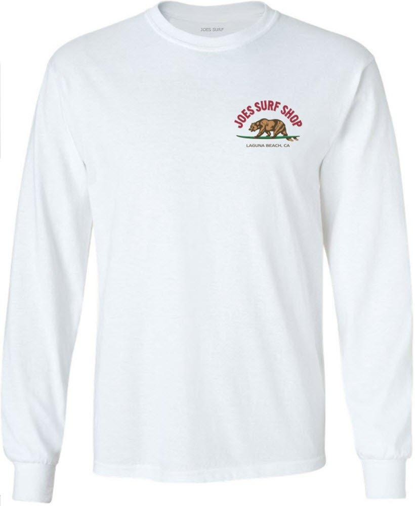 Joe's USA SHIRT メンズ B073Z8Q333 XL|White/C 100% Cotton Long Sleeve T-shirt White/C 100% Cotton Long Sleeve T-shirt XL