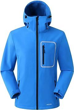 Eono Essentials Junior-Softshell-Jacke mit fester Kapuze|winterjacke