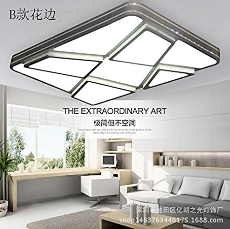 Moderno y minimalista lámparas LED lámpara de techo sala el ...