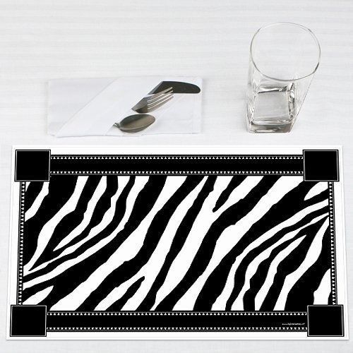 Zebra-Party-Placemats-Set-of-12