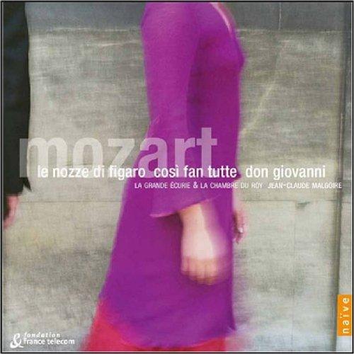 Mozart (Le nozze di Figaro · Così fan tutte · Don Giovanni) / Malgoire