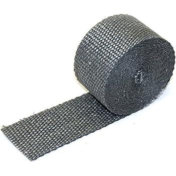 Exhaust Heat Wrap >> Amazon Com Dei 010121 Exhaust Heat Wrap 2 X 15 Roll Black