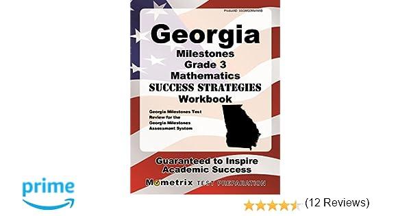 Georgia Milestones Grade 3 Mathematics Success Strategies Workbook ...