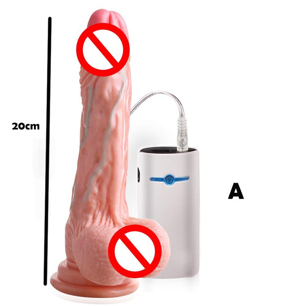lunaanco Juguetes Sexual en Parejas Parejas Parejas G-Spot Sex Toy para Mujeres Recargable Ventosa Masturbador Vagina Juguete a Prueba de Agua Sexo Adulto (A) 42913e