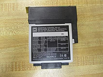 SQUARE D 8501X080 Control Relay