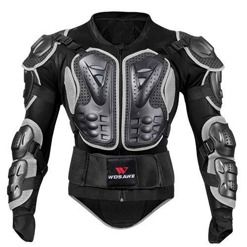 HBRT Motorcycle Protective Jacket Vest Armor Mesh Body Chest Spine Protector for Pro Street Motocross ATV Guard - Extreme Jacket Rider