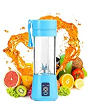 380ml Portable Blender Juice Cup, Small Blender Shakes Travel Blender Cup whit USB Rechargeable Batteries, 3D Blades for Great Mixing for Home, Sports, Office, Travel, Gym and Outdoors