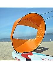 Huya Force 42 Pulgadas Downwind Kayak Vela Paddle, Canoa Kit Vela Instánea - Fácil Configuración & se Despliega Rápidamente & Portátil & Compacto