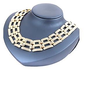 1 Piece Vintage Collar necklace (S1) (Gold)