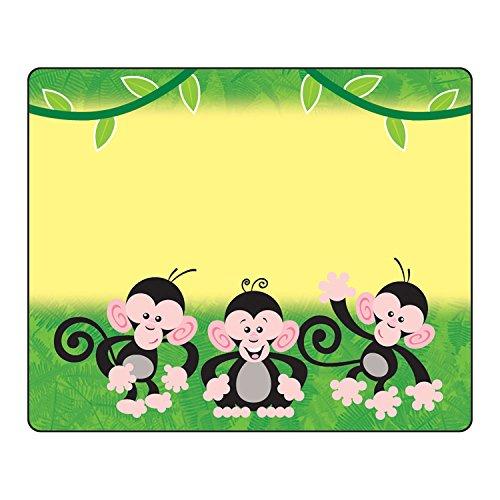 TREND enterprises, Inc. T-68024BN Monkey Mischief Terrific Labels, 36 Per Pack, 6 Packs