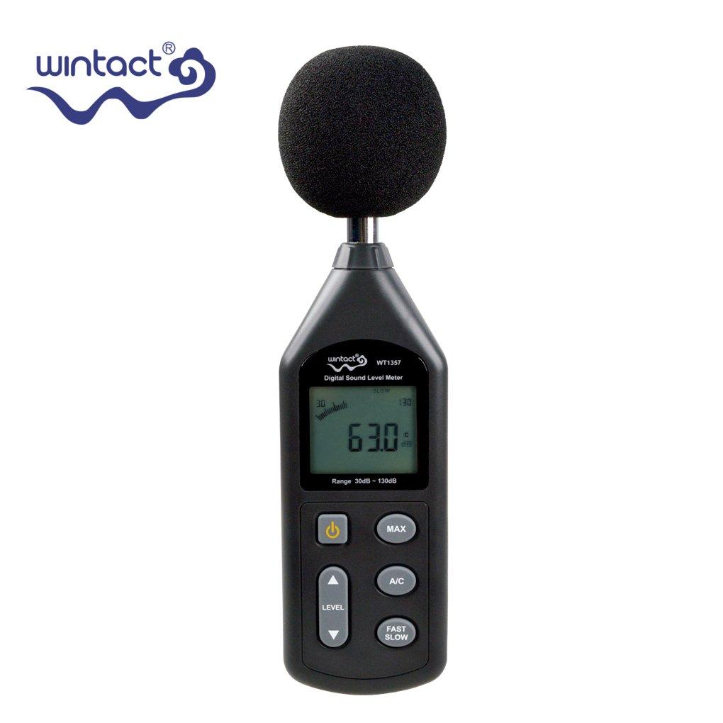 Boger WT1357 Digital Sound Level Meter Noise Level Tester Gauge 30 to 130dB Decibel Meter