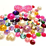 Resin crystal Mixed Color shape Assorted Rhinestones Flatbackship with samples from GreatDeal68 (1500)
