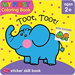 Toot Toot! (My First Coloring Book): Flintas Publsihing ...