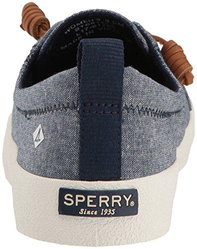 Sperry Damen Crest Vibe Crepe Chambr. Navy Segelschuhe Blau (Navy)