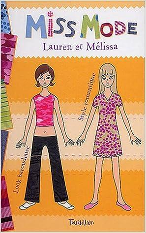Livres gratuits en ligne Miss mode : Lauren et Melissa pdf