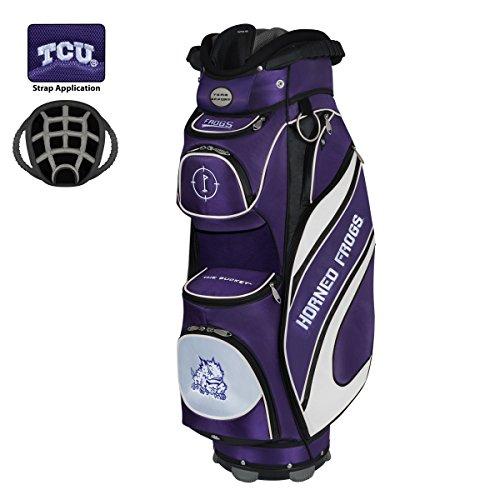 (Team Effort TCU Horned Frogs The Bucket Cooler Cart Bag)