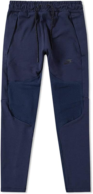 Amazon Com Nike Sportswear Tech Fleece Men S Pants Size Medium Obsidian Clothing