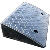 Rubber Kerb Ramp Heavy Duty 10t Load Heavy Duty for Trucks, Cars, Hand Trolleys,Wheel Chair