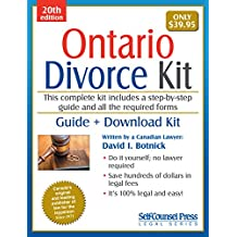 Divorce Kit for Ontario: Guide + Download Kit