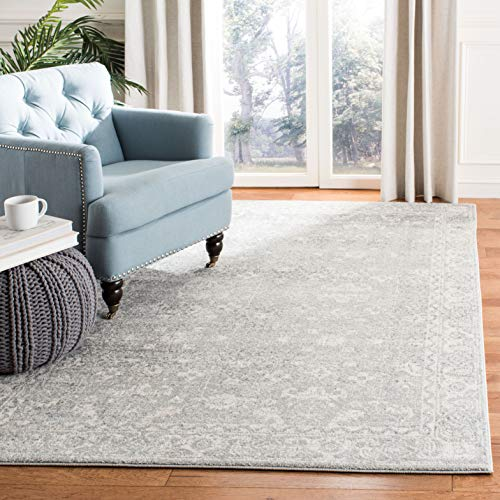 (Safavieh Evoke Collection EVK270Z Vintage Silver and Ivory Area Rug (8' x 10'))