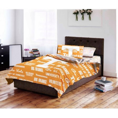 NCAA University of Tennessee Volunteers Bed in a Bag Complete Bedding Set (Queen) ()