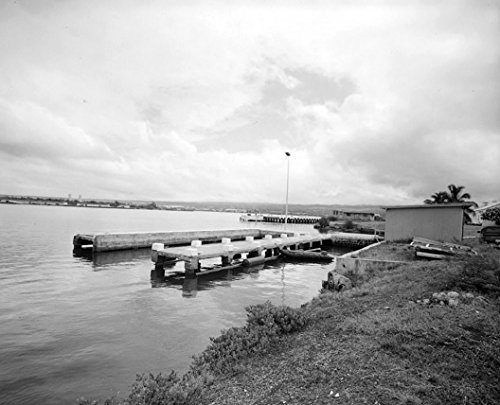 Historic Photo | U.S. Naval Base, Pearl Harbor, Finger Pier Structure, Ford Island west of Ranger Loop & Southwest of Wharf F-9, Pearl City, Honolulu County, HI 1 Photograph 44in ()