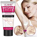 Natural Whitening Cream, Underarm Lightening and Brightening Deodorant Cream, Armpit Whitening Body Creams