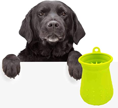 kelihood - Recipiente de Limpieza para Mascotas, de Silicona ...