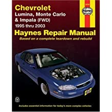 Amazon haynes repair manual books chevrolet lumina monte carlo front wheel drive impala automotive repair manual fandeluxe Image collections