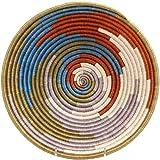 Fair Trade Rwanda African Sisal Bowl 11-12'' Across, 33847