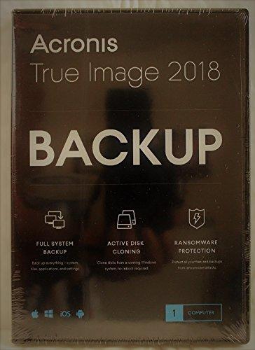 Acronis True Image 2018 - 1 Device (DVD Case)