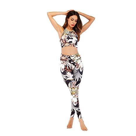 Glhkkp-sp Mono Deportivo de Yoga para Mujer Impresión de ...