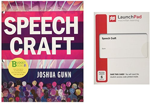 Loose-leaf Version for Speech Craft & LaunchPad (Six Month Access)]()