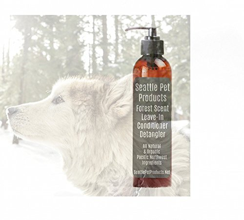 Forest, the scent of the old growth trees, Leave-In Conditioner and Detangler, Seattle Pet Product, All Natural