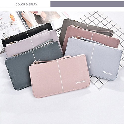 Couleurs Main Long Gray Femmes Casual Multi Color Embrayage Les Durable rabbit 3 Lovely à Sac Couches Blue Wallet qzPxHEw