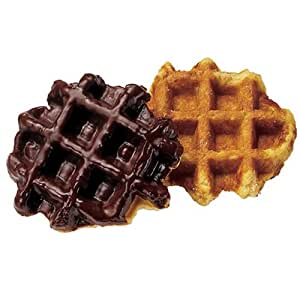 Chocolate Covered Belgian Waffles