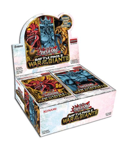 - YuGiOh Battle Pack 2 War of the Giants Booster Box