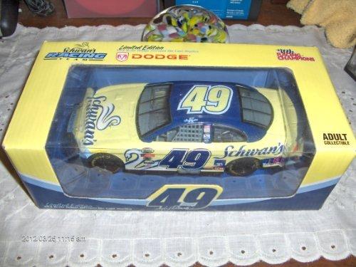 kenny-schrader-49-schwans-dodge-2004-racing-champions-124-diecast-car