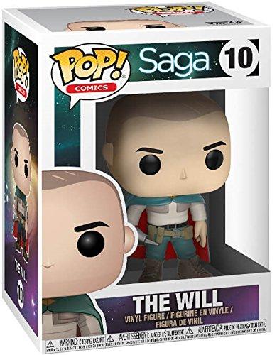 The Will Vinyl Figure Comics: Saga Funko Pop Bundled with Pop Box Protector Case