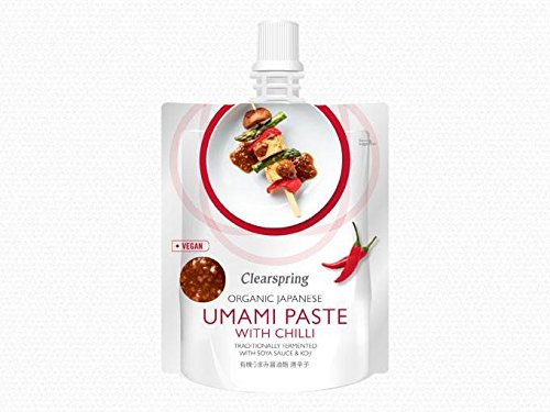 Clearspring | Umami Paste with Chilli- Org | 6 x 150g: Amazon.es: Alimentación y bebidas