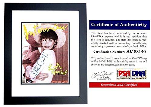Jamie Lee Curtis Signed - Autographed Original Interview Magazine ...