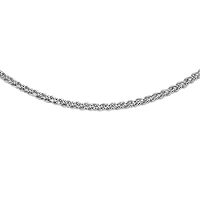 Carissima Gold Women's 9 ct Gold 1 mm Spiga Chain Necklace GtNvk