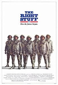 Image result for the right stuff poster