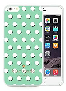 Luxurious And Popular Custom Designed Kate Spade iPhone 6 Plus White Phone Case 5.5 inch Screen 035