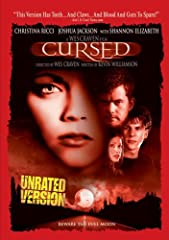Packed with even more intense thrills than audiences experienced in theaters, this unrated version of Wes Craven's CURSED brings you the terror of werewolves as never before! Christina Ricci (MONSTER), Jesse Eisenberg (THE VILLAGE), Joshua Ja...