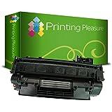 Printing Pleasure Toner Compatibile per HP Laserjet P2030 / P2033 / P2034 / P2035 / P2035N / P2036 / P2037 / P2050 / P2053 / P2054 / P2055 / P2055D / P2055DN / P2055X / P2056 / P2057 / Canon MF-5840DN / MF-5880DN / MF-5940DN / MF-5980DW / MF-6140CN / MF-6180CW / LBP-6300DN / LBP-6310DN / LBP-6650DN / LBP-6670DN / LBP-6680 x / CE505A / 05A / CRG 719 / 3479B002 Nuovo non Rigenerato, Colore: Nero