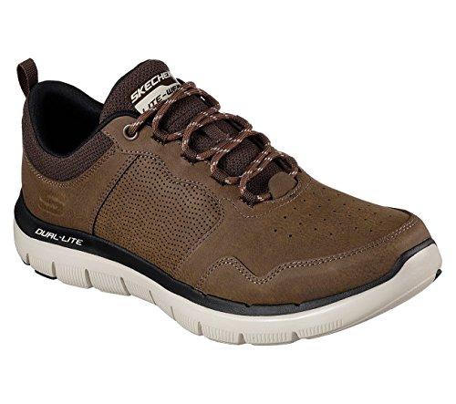 Skechers Flex Advantage 2.0 Dali Mens Sneakers Chocolate 10