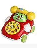 Kaimu Baby Toys Cartoon Car Phone Kids Educational Developmental Toys Push & Pull Toys