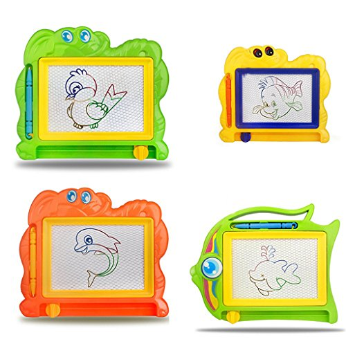 Taiguang Magnetic Drawing Board Sketch Pad Doodle Writing Craft Art for Children Kids - Random Color Style