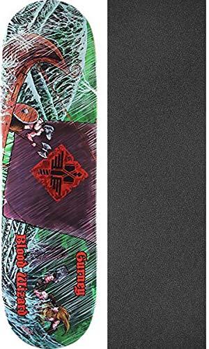 近所の適応する手Blood WizardスケートボードJerry Gurney Warshipスケートボードデッキ – 8.75